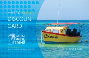 Aruba Dine-Around Discount Card