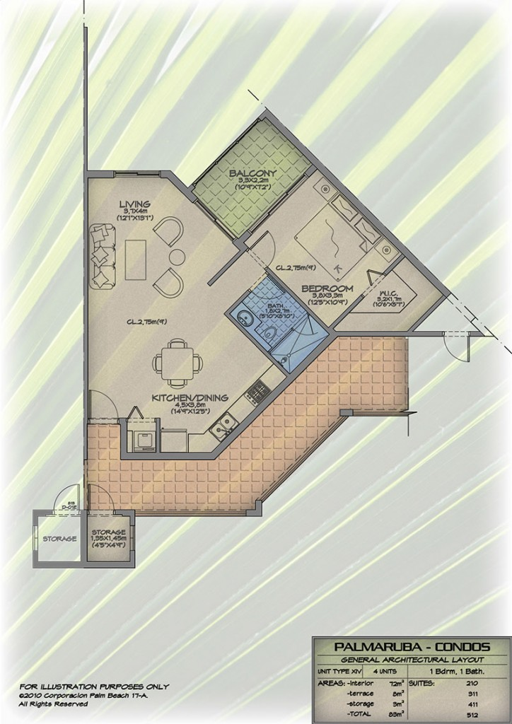 Aruba condo for rent for sale