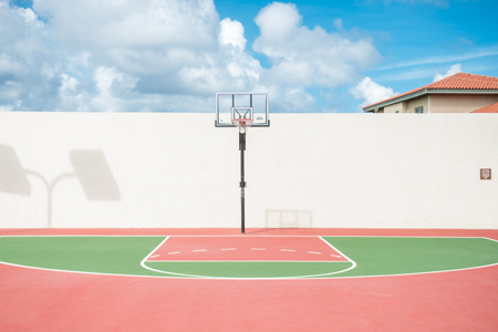 basket ball court aruba