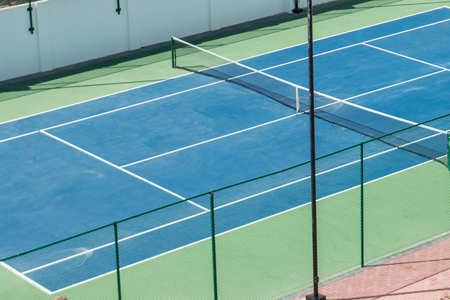 Tennis court hotel Palm beach Aruba
