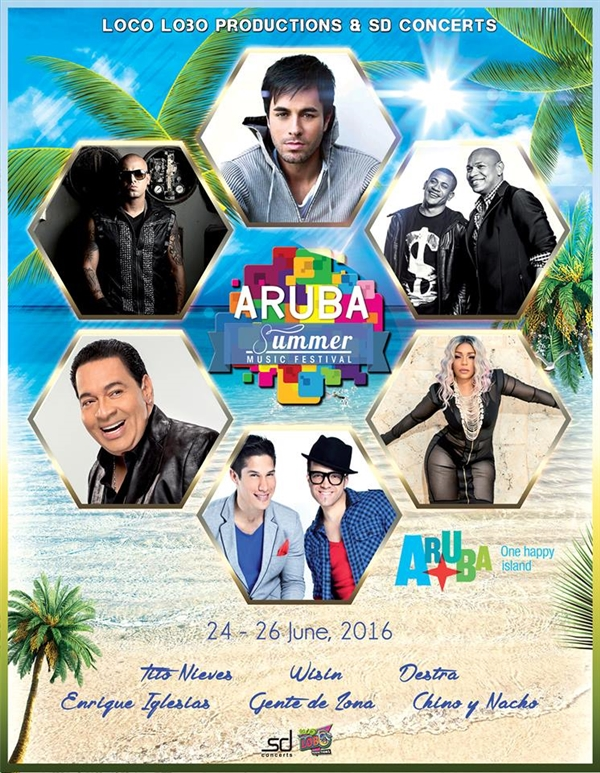 Aruba Summer festival 2016